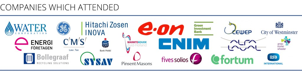 companies which attended