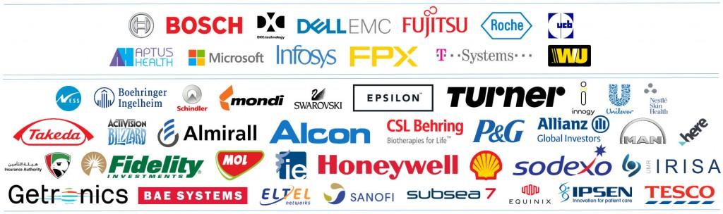 attending companies DT2018